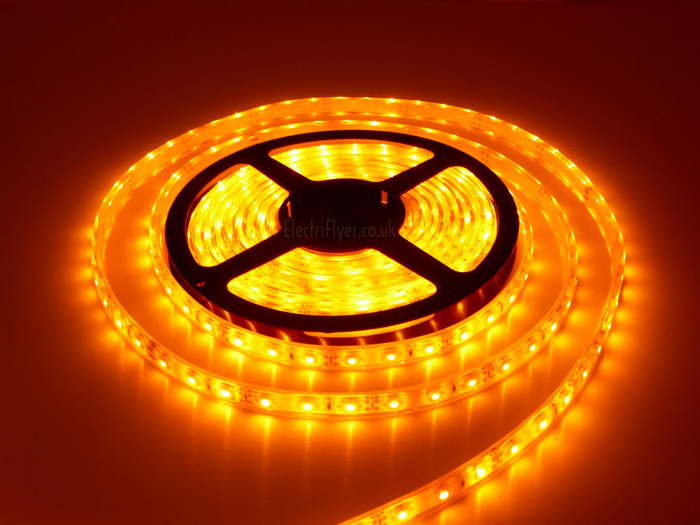 3528 Smd Yellow Led Strip Light 5 M Long 60 Led M