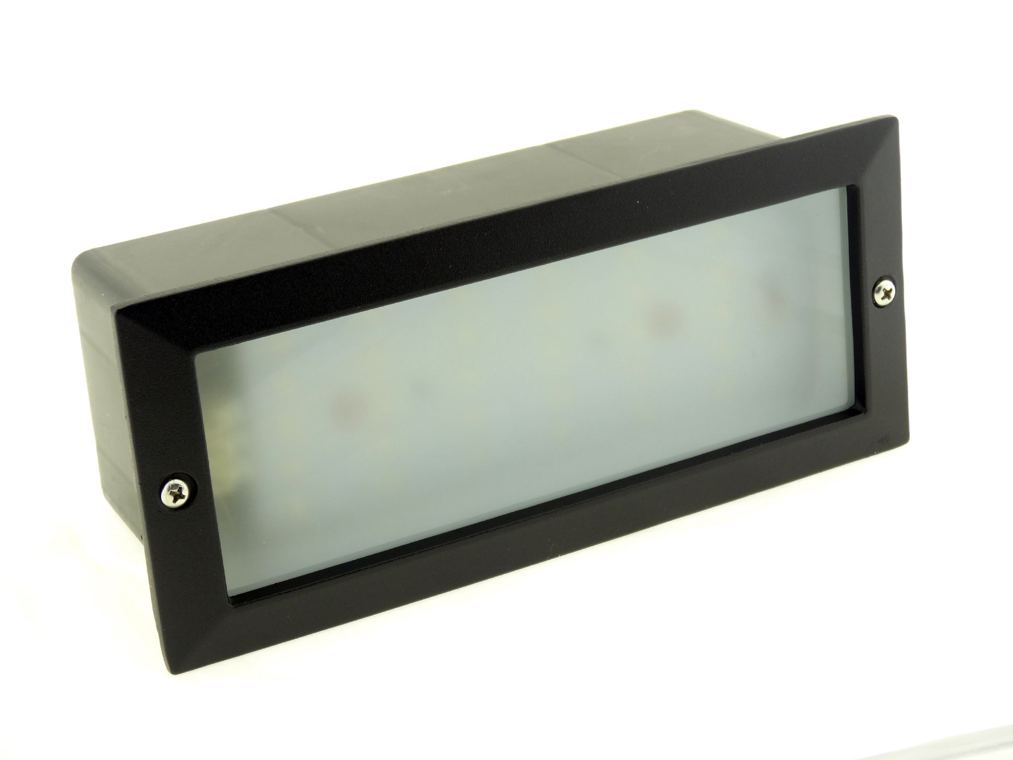 Modern White Led Outdoor Garden Recessed Brick Wall Light Super Bright Ip54