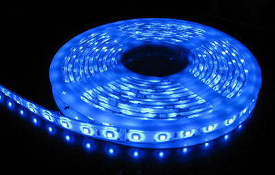 3528 Smd Blue Led Strip Light 5 M Long 60 Led M