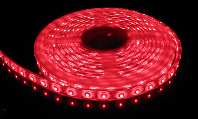 3528 Smd Red Led Strip Light 5 M Long 60 Led M
