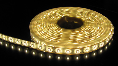 3528 Smd Warm White Led Strip Light 5 M Long 60 Led M