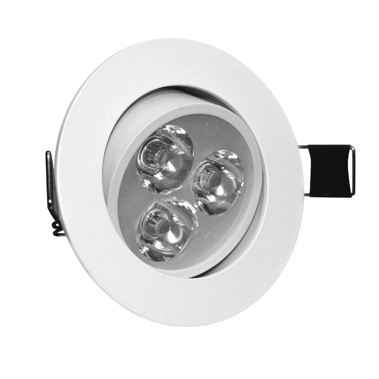 Do Led Ceiling Lights Need Transformers : W angle adjustment recessed spotlight led ceiling downlight