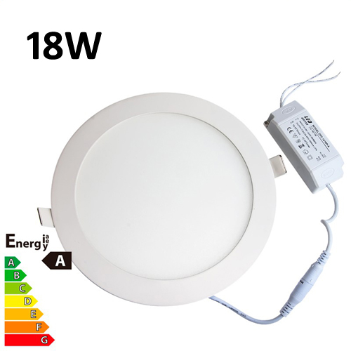 Jsg Accessories Led Round Recessed Ceiling Panel Down