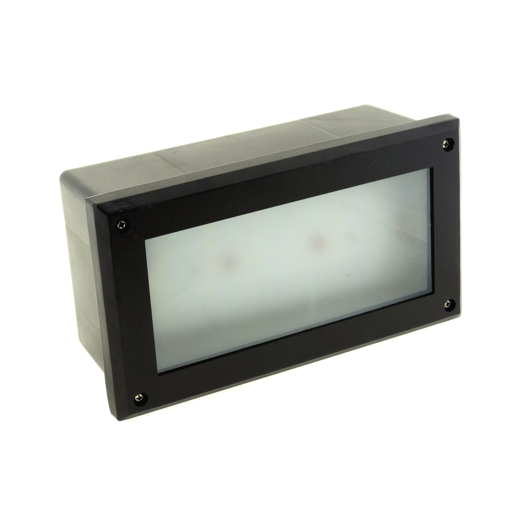 White Brick Wall Lights : Modern White LED Outdoor Garden Recessed Brick Wall Light Super Bright IP54
