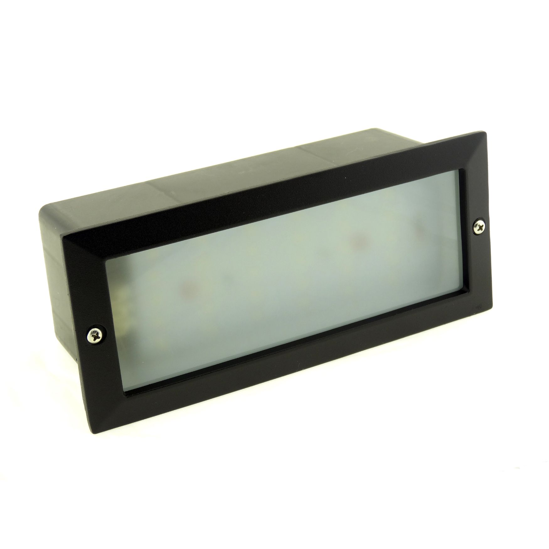 Led Wall Lights Garden : Modern White LED Outdoor Garden Recessed Brick Wall Light Super Bright IP54
